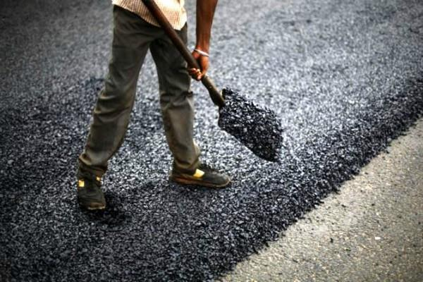 ioc built 850 meter long road using single use plastic
