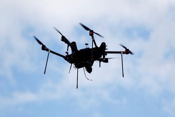 case of drone flying in dalai lama temple