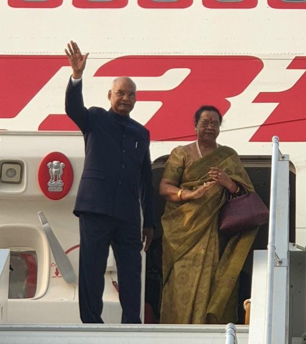 president ramnath kovind leaves for visit to philippines japan