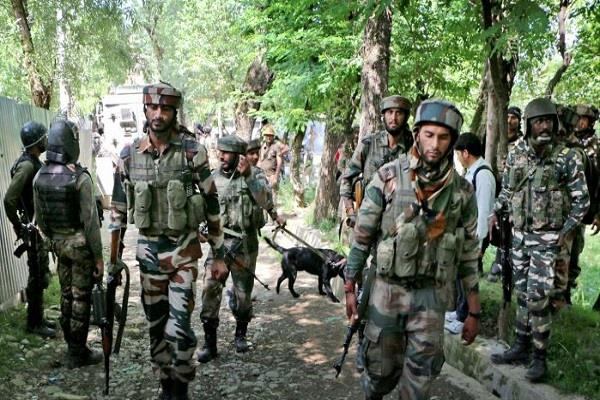 search of terrorists who entered rajouri in jammu and kashmir continues army