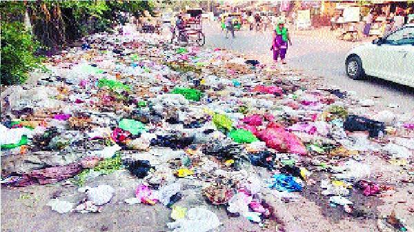 dump garbage took away the shine of diwali