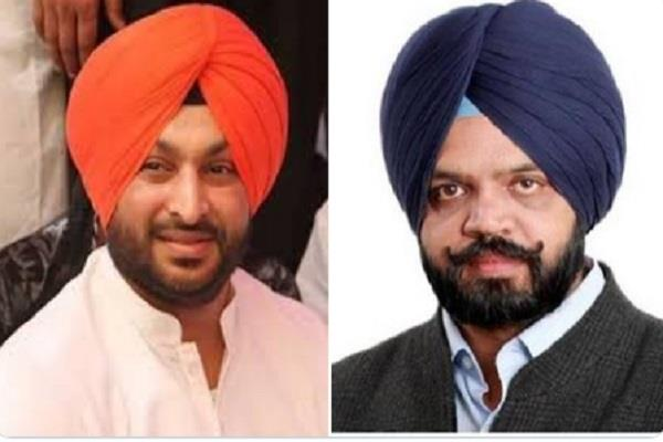 notice issued by election commission to ravneet bittu and manpreet ayali