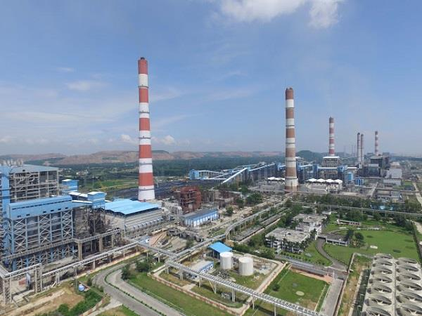 gypsum construction started at country s largest singrauli ntpc
