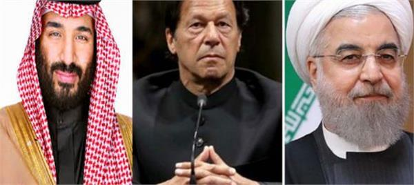 imran leaves for tehran to mitigate tensions between saudi iran