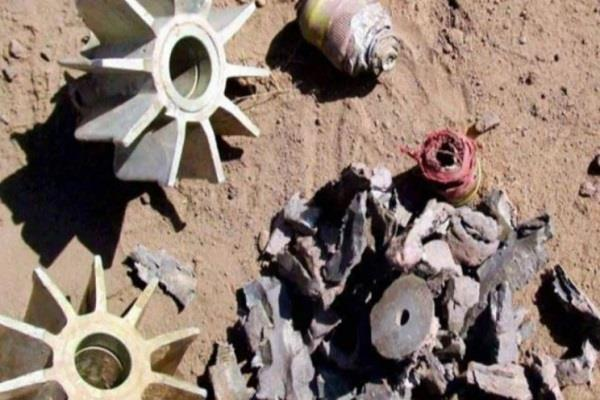 three mortar shells recovered in samba district
