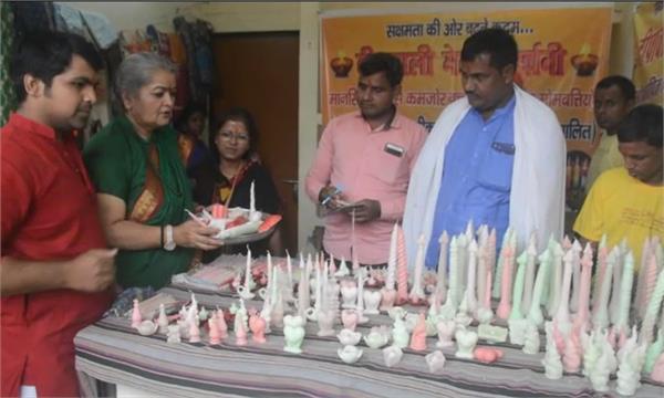 prayagraj candles made by mentally deranged children adding