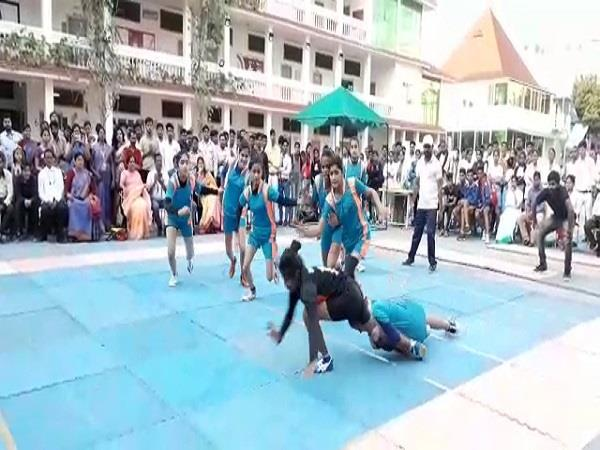 64 teams participated in the state kabaddi cluster tournament