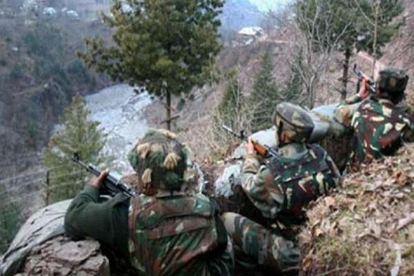 indian army destroyed three pak posts counter firing one pak soldier killed