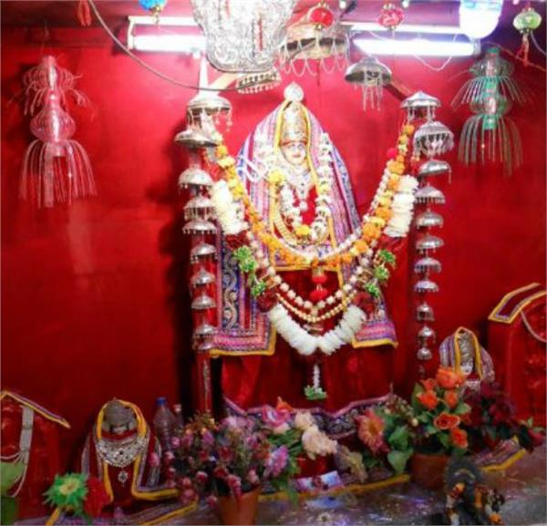 ghantiyali mata temple is the center of faith of soldiers
