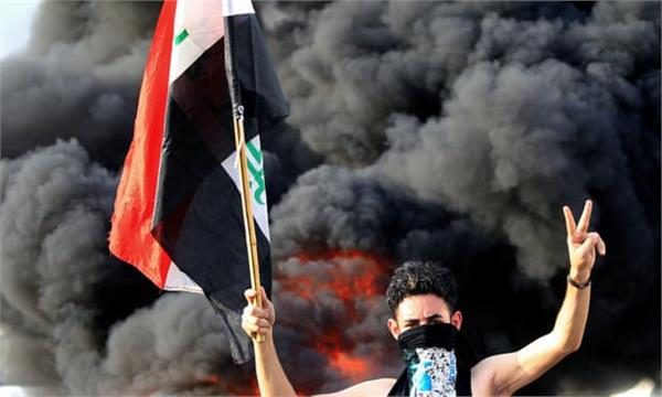 iraqi security forces fire on protesters
