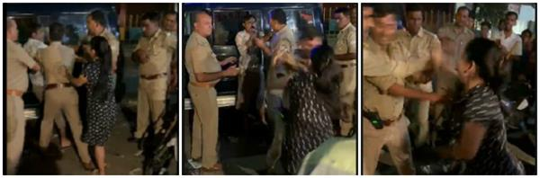 ghaziabad police did something similar woman slapped video went viral