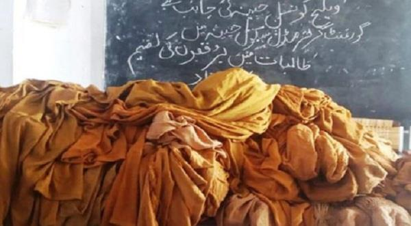 social media outrage as pakistani official buys burqas for girls