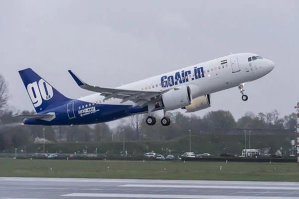 goair s fleet includes two a320 aircraft