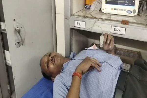 lucknow presiding officer chinta nand s condition worsens hospitalized