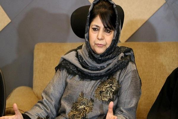 mufti says bjp is using the martyrdom of soldiers for votes