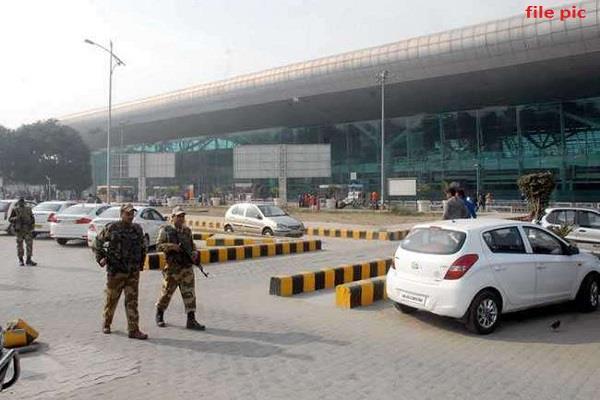 amritsar airport is always on high alert