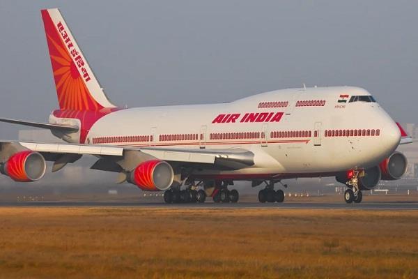 air india bring aircraft on runway by taxibot