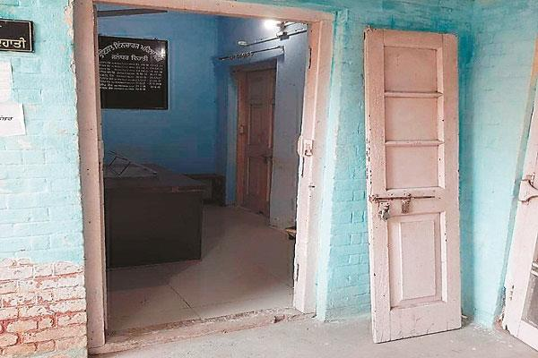 bad condition of the rural women police station