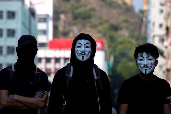 ban on wearing masks in hong kong