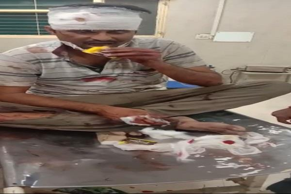 soldier commotion in the emergency ward of lohia hospital