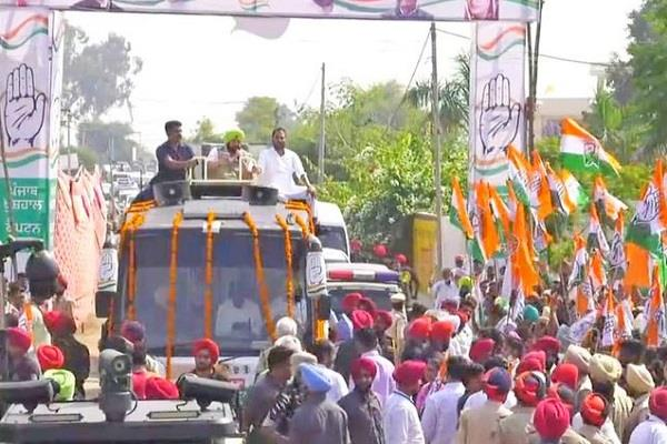 by elections chief minister did road show in jalalabad
