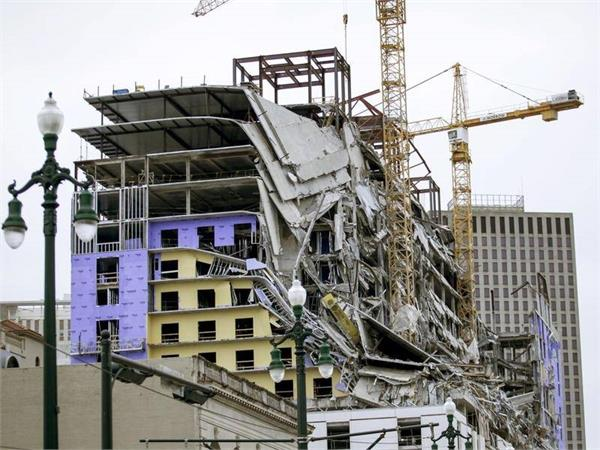 hard rock hotel collapse in new orleans  2 dead 20 injured