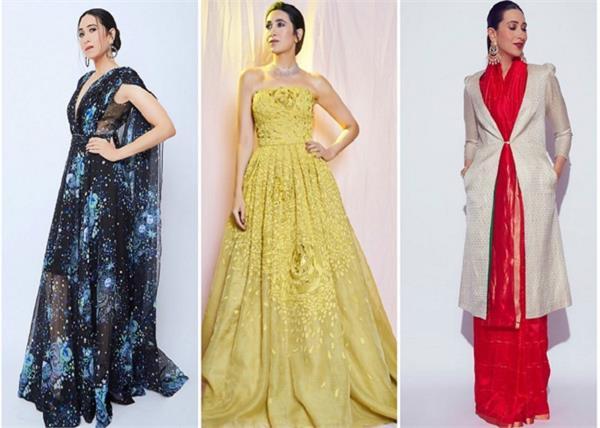 Fashion Diva: करिश्मा के इन आउटफिट पर डाले आप भी एक नजर