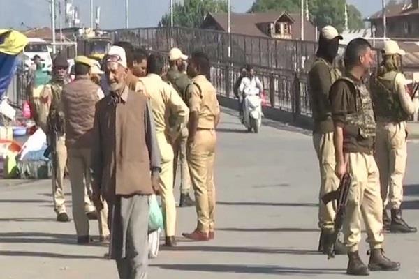 grenade attack by terrorists in srinagar