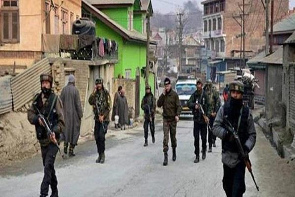 after pathankot input security forces police search operation kathua