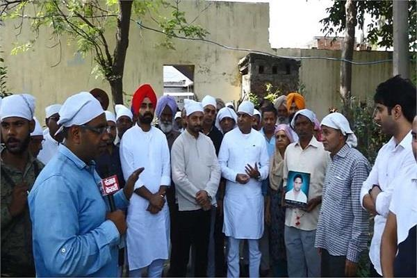 amritsar railway accident victims raged against government