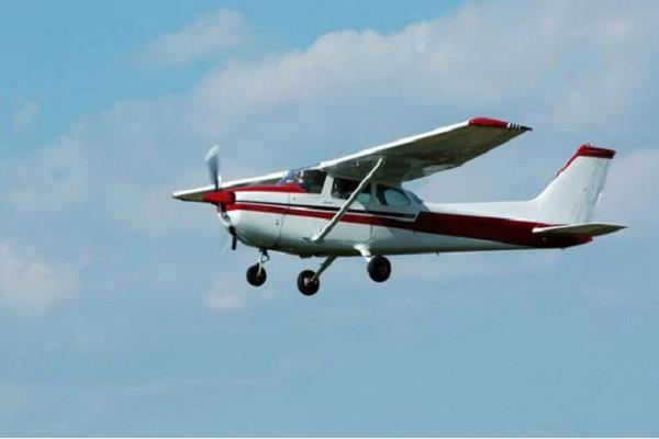 maharashtra  trainer plane crashed during landing
