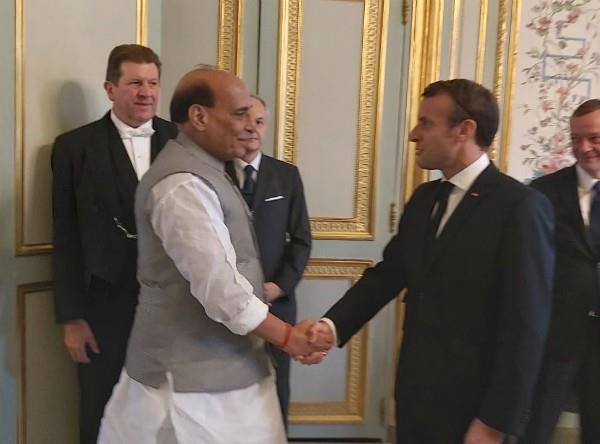 rajnath singh tweet thank you france
