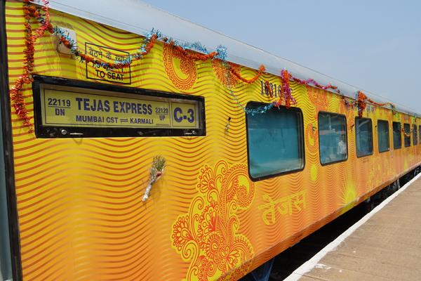 good news for passengers 2 hours late tejas express will be available