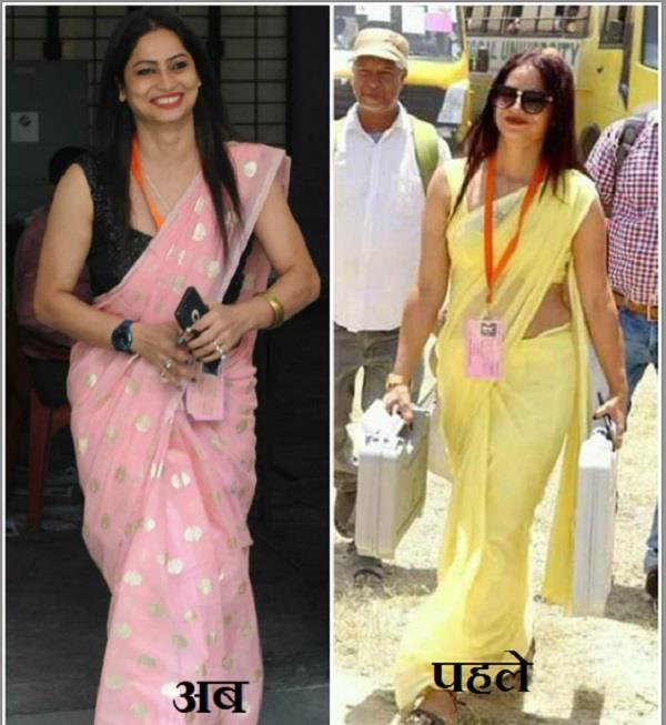again viral picture of the presiding officer reena dwivedi