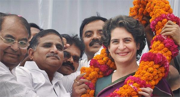 ajay kumar lallu says priyanka gandhi is the second idina storm of change