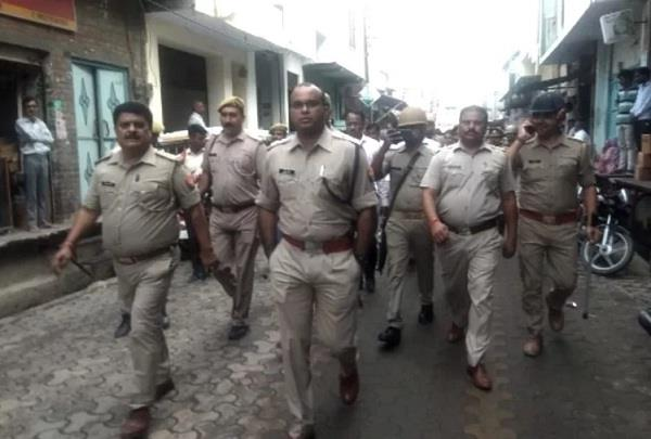 police reached sp mla house
