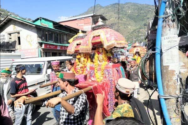 god goddess in dussehra festival