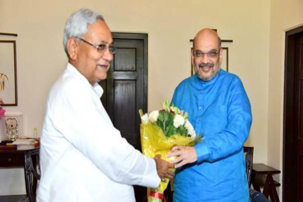 will contest elections under the leadership of nitish kumar amit shah