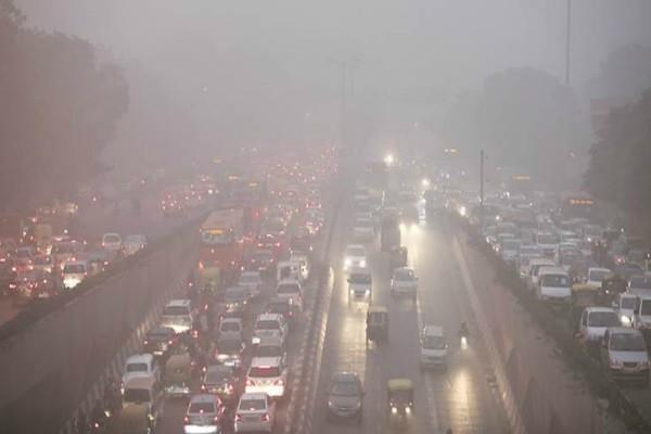 delhiites can get relief from contaminated air from western disturbance