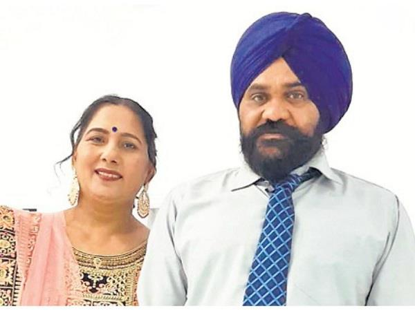 hoshiarpur s husband and wife died tragically in canada