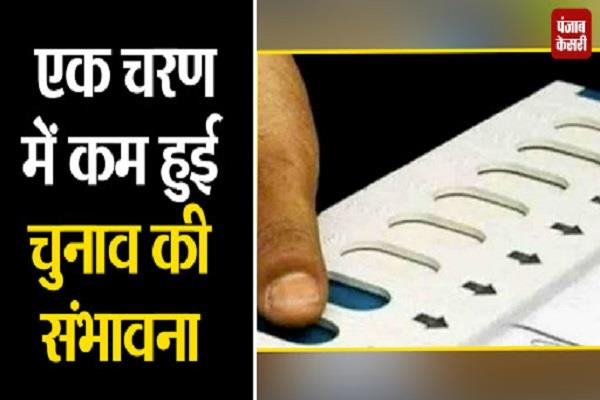 jharkhand assembly by election election likely reduced in phase 1