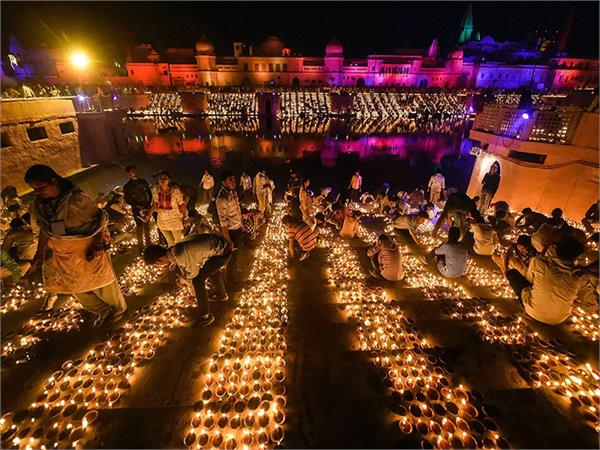 a grand festival will be held in ayodhya diwali will be