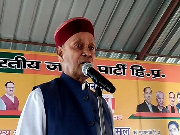 bjp needs to come forward if development is to proceed  dhumal