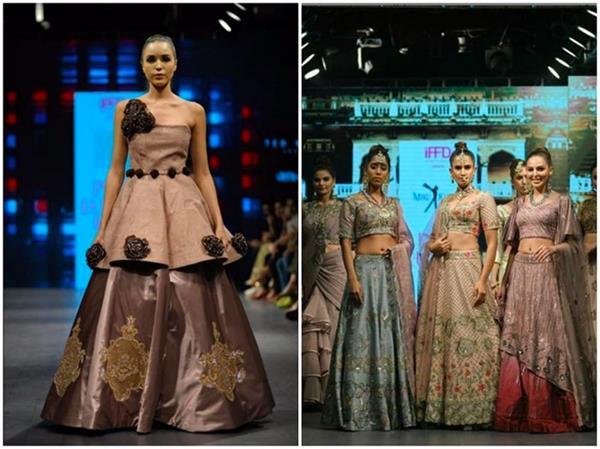 इंडिया रनवे वीक: दुल्हन बन रैंप पर उतरीं मॉडल्स, तीसरे दिन डिजाइनर्स ने पेश की स्वदेशी कलैक्शन