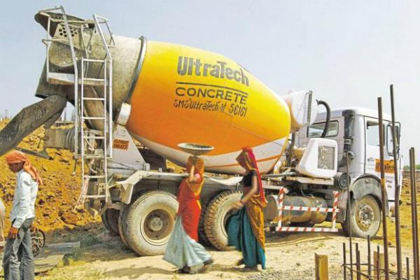 ultratech cement profit up by 72