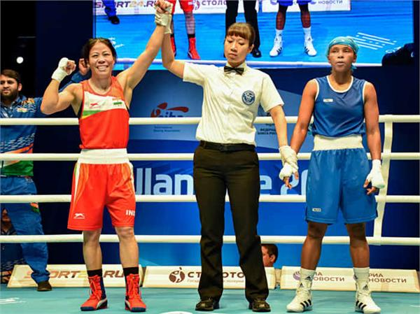 अचीवमेंट : वुमेन वर्ल्ड बॉक्सिंग चैंपियनशिप 2019 के सेमीफाइनल में पहुंची मैरीकॉम