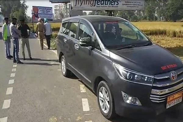pcs officer dhuri sangrur road toll plaza