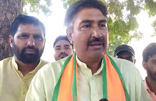 bjp candidate said captain s son will face defeat in politics