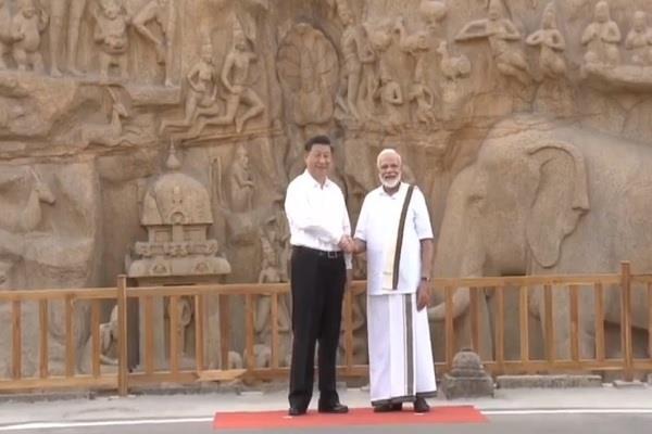 pm modi narendra modi xi jinping chennai unofficial summit mahabalipura