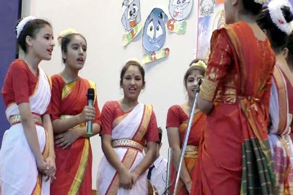 national group anthem know india competition